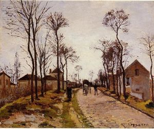 Camille Pissarro - The Road to Caint-Cyr à Louveciennes