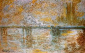 Claude Monet - Pont de Charing Cross 1