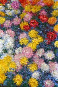 Claude Monet - Chrysanthèmes