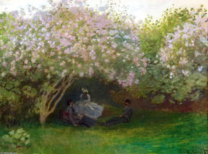 Claude Monet - Lilas, temps gris