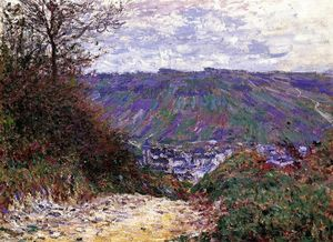 Claude Monet - chemin à giverny