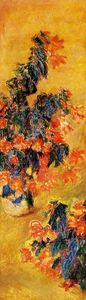 Claude Monet - Red azalées dans un Pot