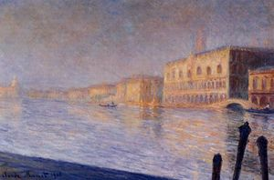 Claude Monet - Le Palais des Doges