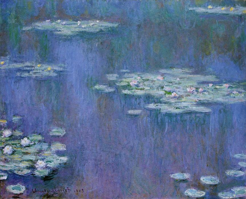 Water-Lilies 13, huile de Claude Monet (1840-1926, France)