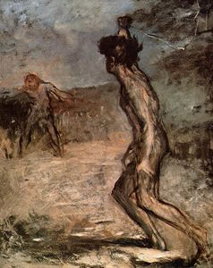 Edgar Degas - david et goliath