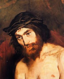 Edouard Manet - le chef du christ