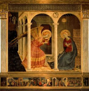 Fra Angelico - Annonciation 1