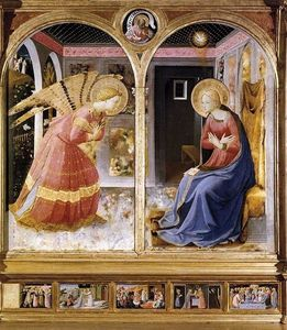 Fra Angelico - Annonciation 6