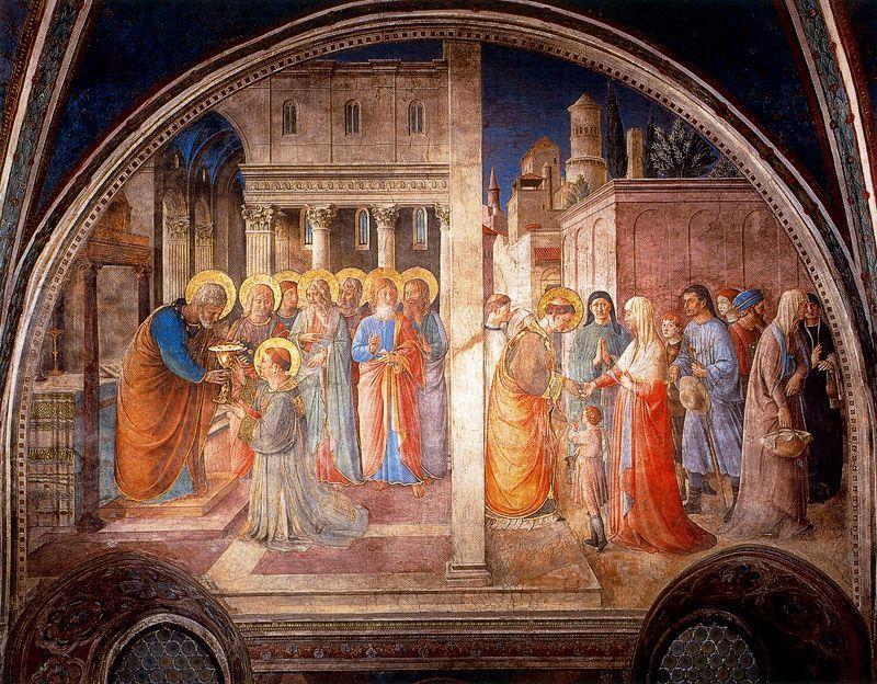 la cons cration de saint etienne et de la r partition de l