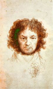Francisco De Goya - Autoportrait