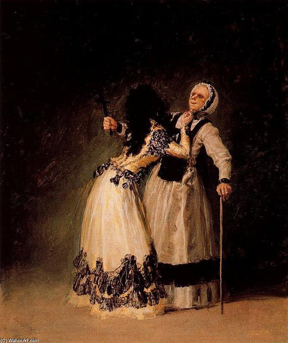 , huile de Francisco De Goya (1746-1828, Spain)