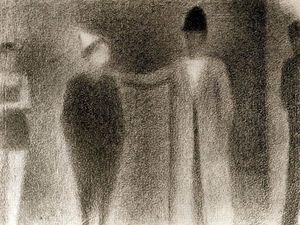 Georges Pierre Seurat - couple danse