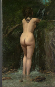 Gustave Courbet - le source 1