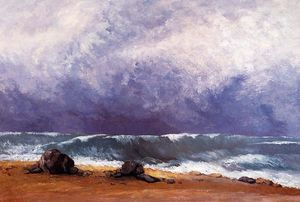 Gustave Courbet - le onde