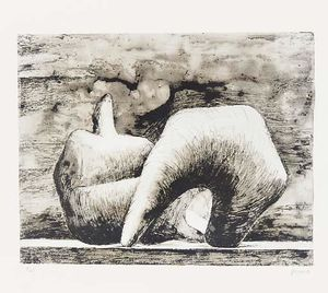 Henry Moore - figure inclinables 10