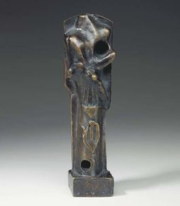 Henry Moore - Motif Montant. Maquette n ° 3