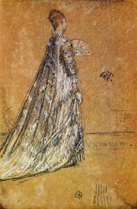 James Abbott Mcneill Whistler - la robe bleue