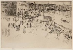 James Abbott Mcneill Whistler - Le Riva je