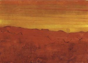 Max Ernst - En arizona rouge