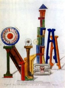 Achat Reproductions D'art Sur Toile : Sommerso dalle acque de Max Ernst (1891-1976, Germany) | WahooArt.com