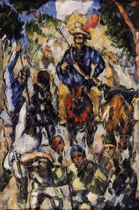 Paul Cezanne - Don Quichotte, vu de face