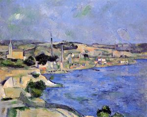 Paul Cezanne - Saint-Henri et la baie de l Estaque