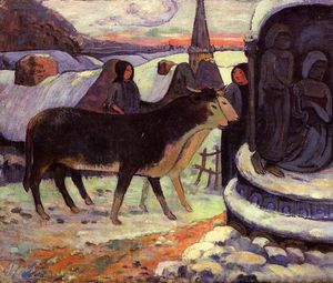 Paul Gauguin - noël nuit
