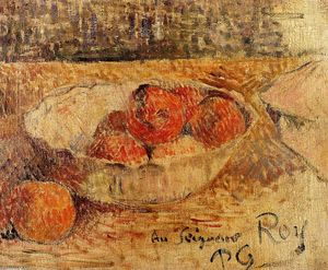 Paul Gauguin - fruits dans un bol