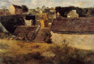 Paul Gauguin - Maisons, Vaugirard