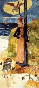 Paul Gauguin - Jeanne d Arc