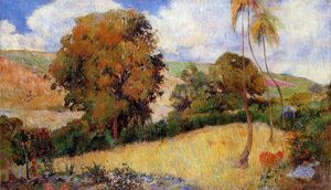 Paul Gauguin - Meadow en Martinique