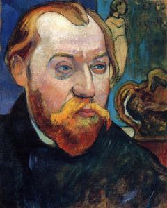 Paul Gauguin - portrait de louis roy