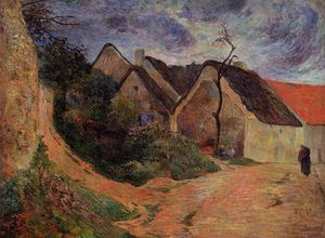 Paul Gauguin - Village rue , Osny