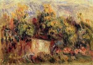 Pierre-Auguste Renoir - Cottage près de Collettes