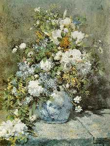 Pierre-Auguste Renoir - printemps bouquet