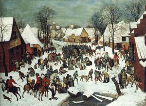 Pieter Bruegel The Elder - Le massacre des innocents