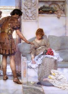 Lawrence Alma-Tadema - a silencieux voeux