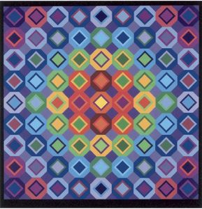 Victor Vasarely - abstrait composition 21