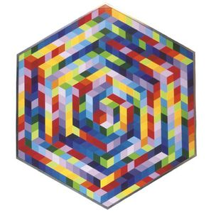 Victor Vasarely - chapeau-a