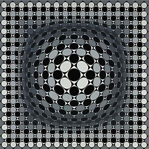 Victor Vasarely - Scure