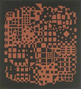 Victor Vasarely - Sikkaso
