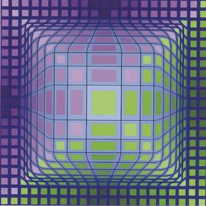 Victor Vasarely - sphère