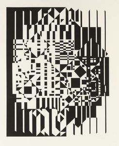 Victor Vasarely - Syrom 1
