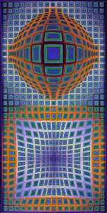 Victor Vasarely - VP-115