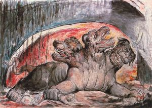 William Blake - Cerberus