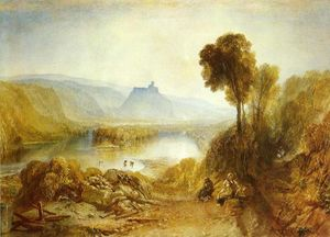 William Turner - château prudhoe , Northumberland
