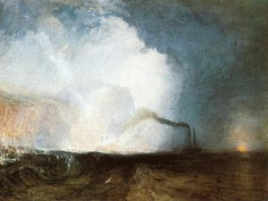 William Turner - Staffa , Fingal's Caverne