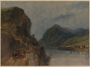 William Turner - Les Drachenfels