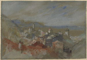 William Turner - Vue de Bregenz
