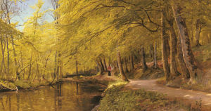 Peder Mork Monsted - Un après-midi promenade